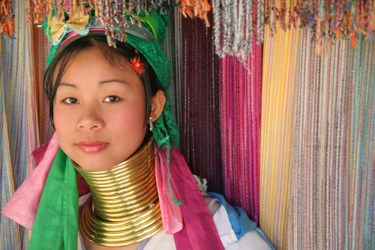 Northern Thailand Hilltribe woman
