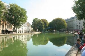 Canal Saint Martin in Paris
