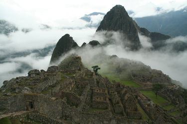 Machu Picchu, Inca retreat, Peru