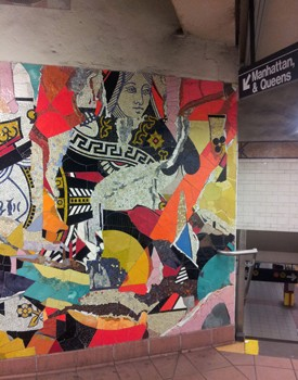 The NYC Subway Art Tour Opened My Eyes