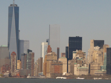 Lower Manhattan from the River