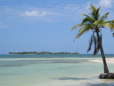 Gorgeous Belize caye scenery