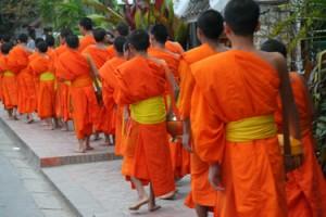 #LuangPrabang monks