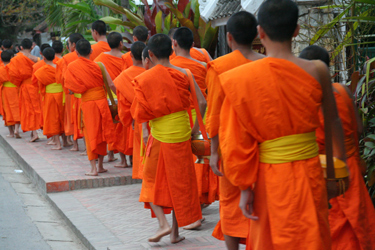 #LuangPrabang monks