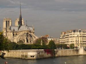 Paris view from Ile St. Louis