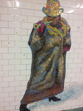 #RevelerTimesSquare #NYCSubwayArt