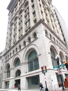 Ames Hotel, Boston building