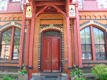Gorgeous decorated Beacon NY building
