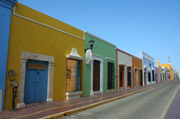 #Campeche #Colonial buildings