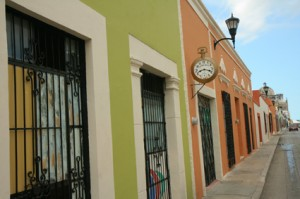Campeche street scene