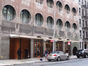 Facade of Dream Hotel, Chelsea-Meatpacking