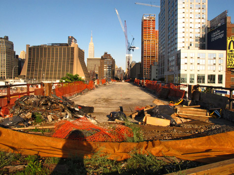 HighLine under construction
