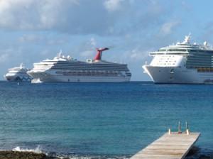 #GrandCayman #CruiseShips