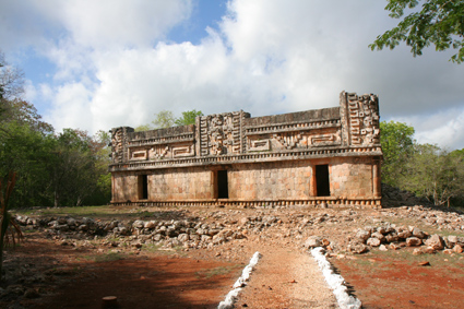 Maya ruins at Labna