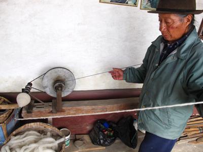 Tahuantinsuyo Weaving Workshop, Agato, Ecuador