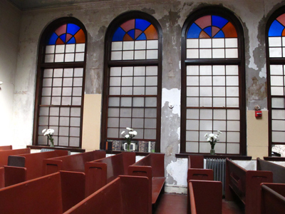 Historical Jewish House of worship, Boston