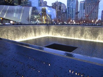Visiting New York City's 9/11 Memorial