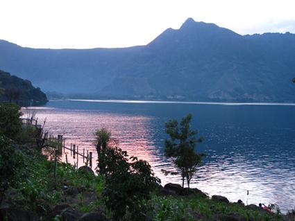 Lake Atitlan sunset