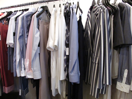 A showroom full of classic women's separates