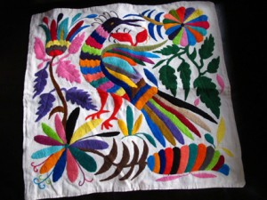 Colorful Mexican Embroidery