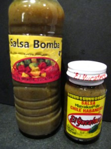 Mexico hot sauce from the Yucatan