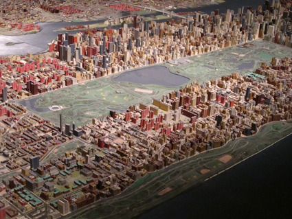 Panorama - 1964 Scale Model of NYC