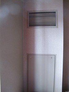 In room central AC vent