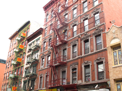 Lower East Side NYC tenements