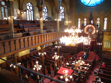 Eldridge Street Synagogue interior, NYC