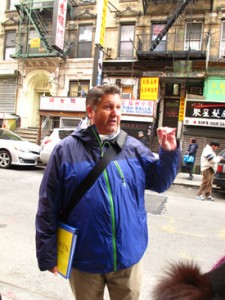 Jeff Dobbins, Walks of NY guide