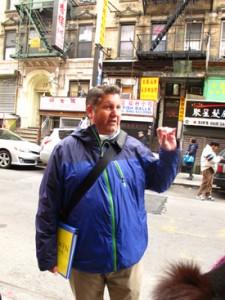 Jeff Dobbins, Walks of NY guide