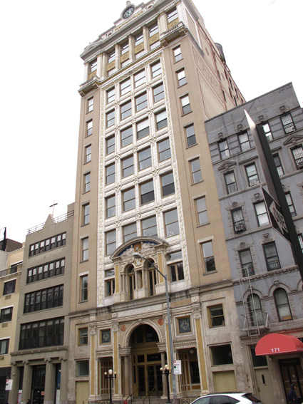 The Forward Building on East Broadway, NYC