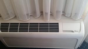 Under Window Loud AC units