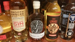 NY State Craft Distillery bottles