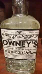 NYC's own rum brand - Owney's