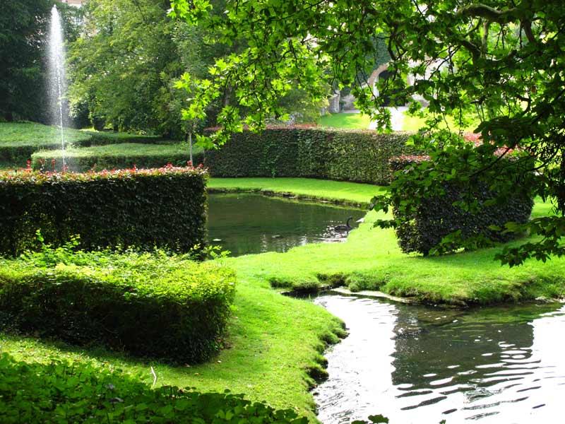 Wallonia's Annevoie Gardens or Jardins d'Annevoie