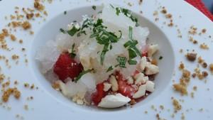 Refreshing dessert with Wepion Strawberries