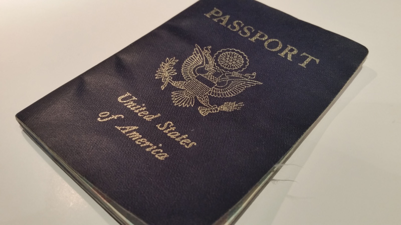 US Passport cover