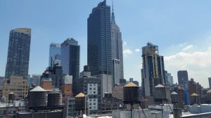 NYC Skyscraper view from Innside hotel