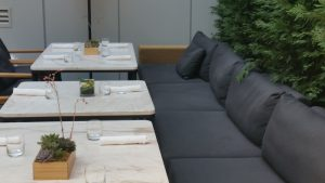 Impero Caffe has indoor and outdoor seating