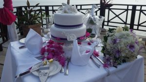 Calabash Cove St Lucia, wedding on the dock