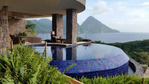 Suite at Jade Mountain St. Lucia, with Piton View