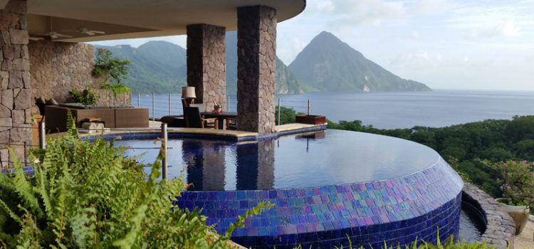 Romance Travel on St. Lucia