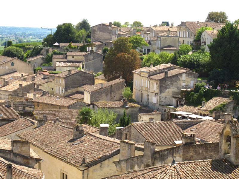 Rooftops of St. Emilion