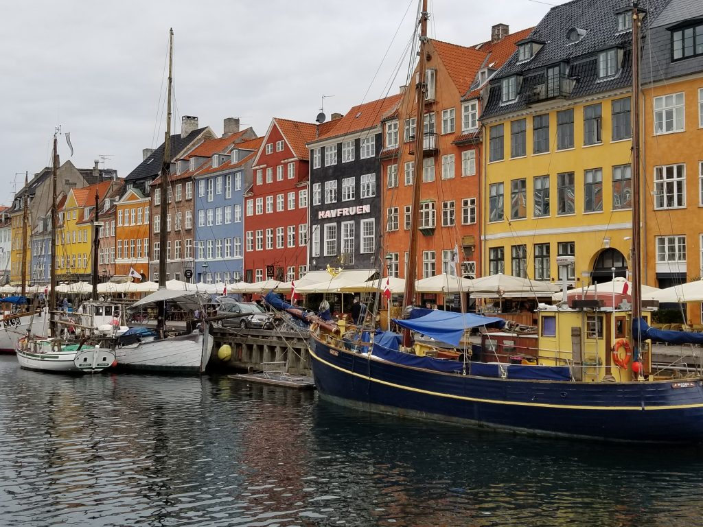 17th century waterfront in Copenhagen